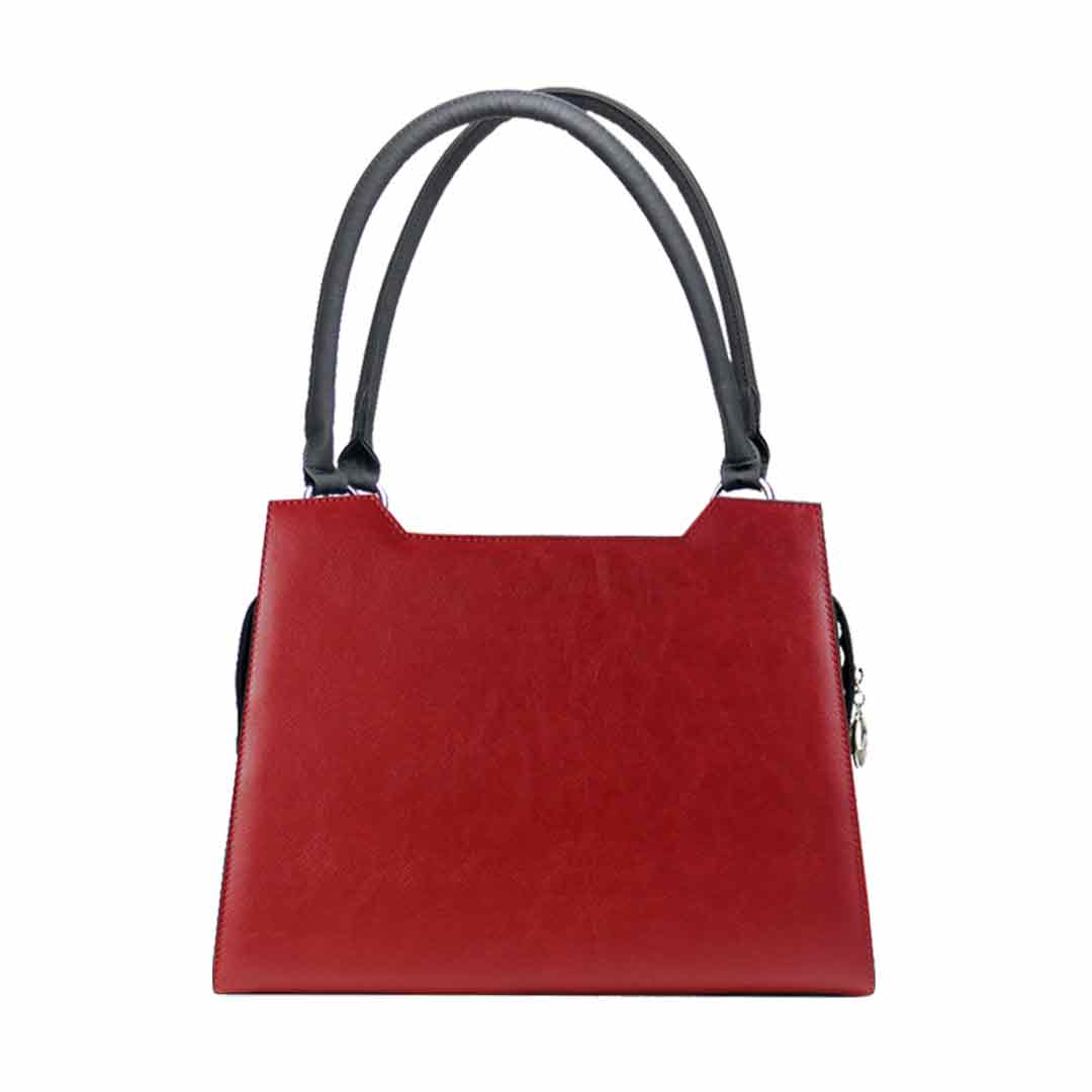 Uni rote Handtasche Modell elegance Kent