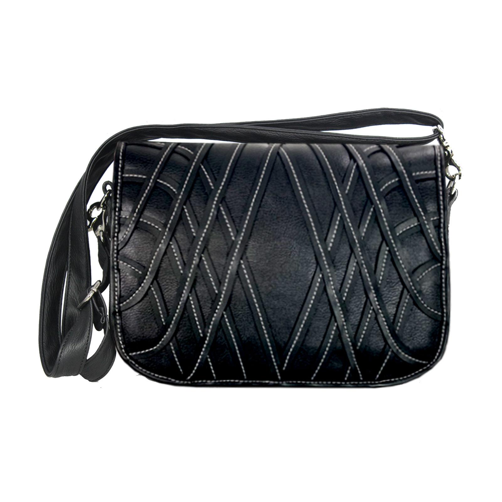 schwarz weiße Handtasche im Set Preis