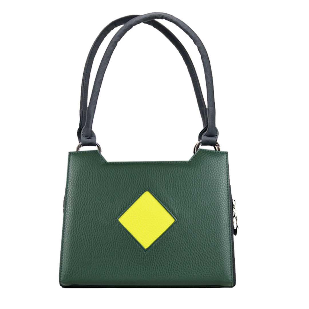 Dublin gruen Kompltt Set Design in grün mit gelben Karo