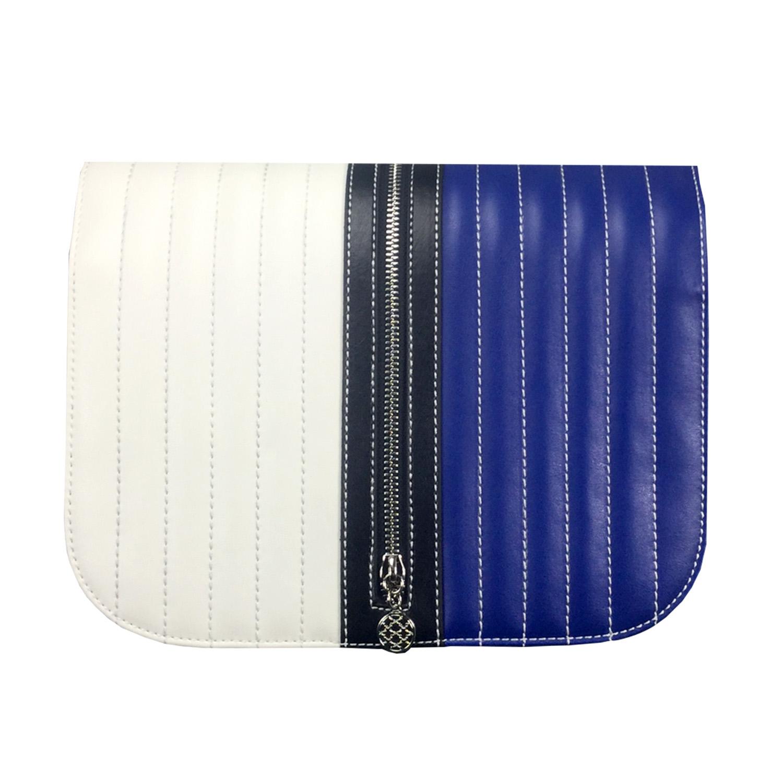 Blau weisses Design für die Handtasche soft Bag