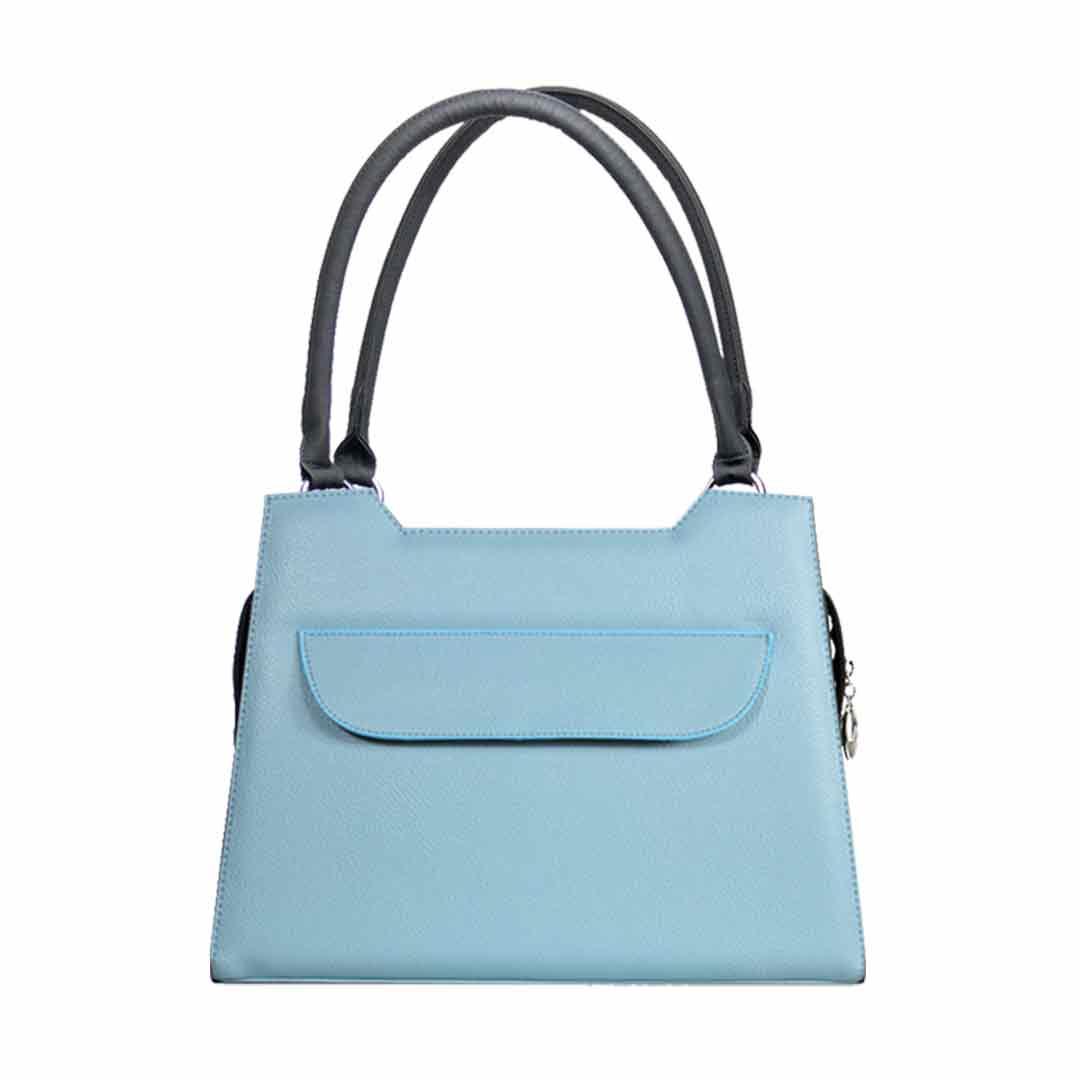 hellblaue elegance Handtasche mit Design Lissabon