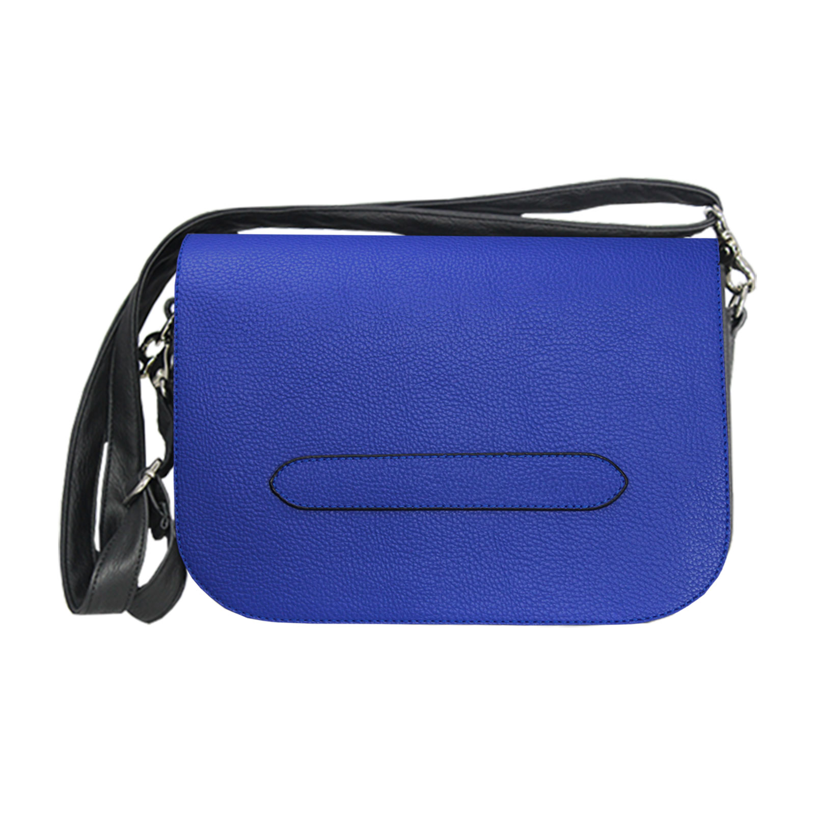Dunkelblaue Handtasche Delieta soft