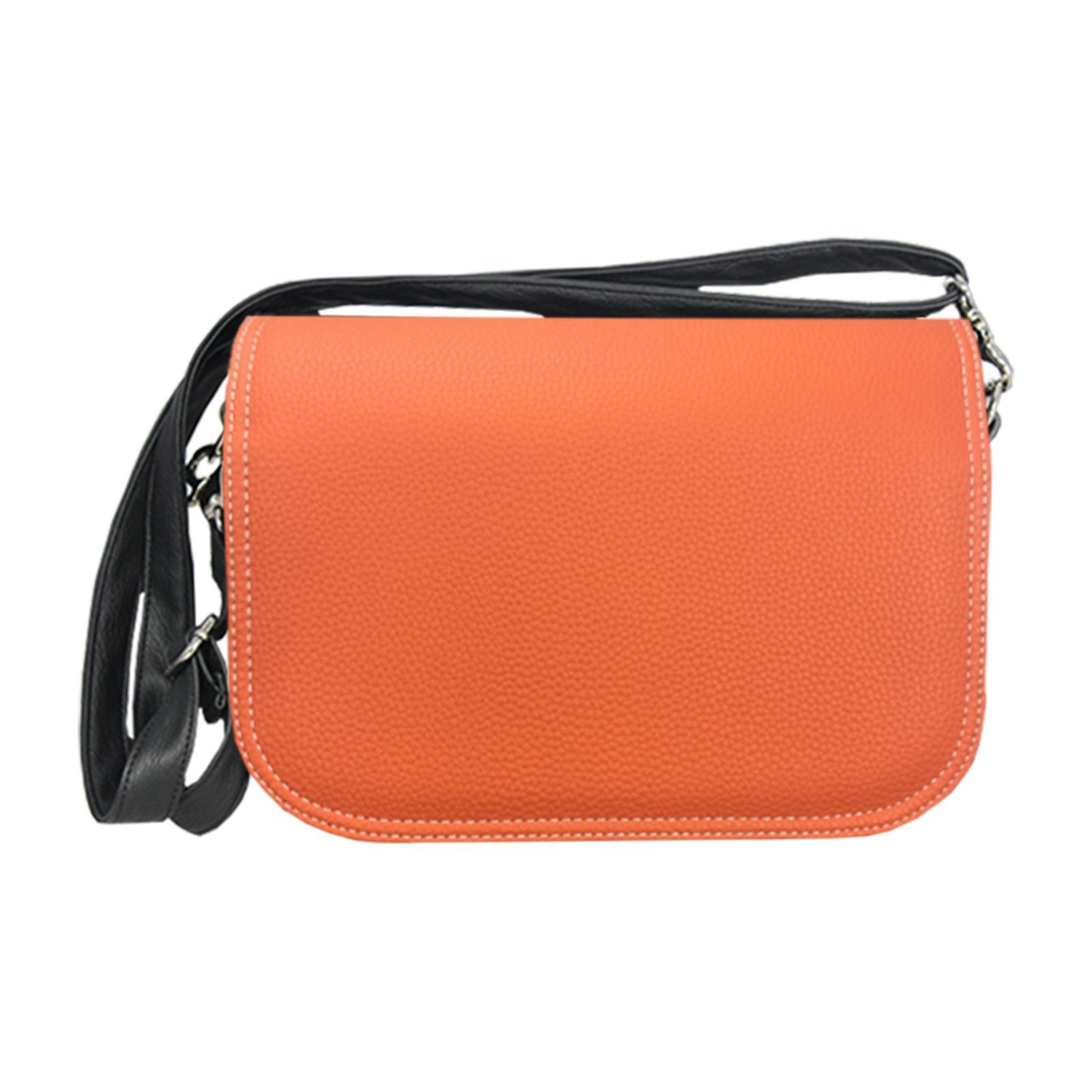 Orangefarbende Cross Over Tasche im Set Preis