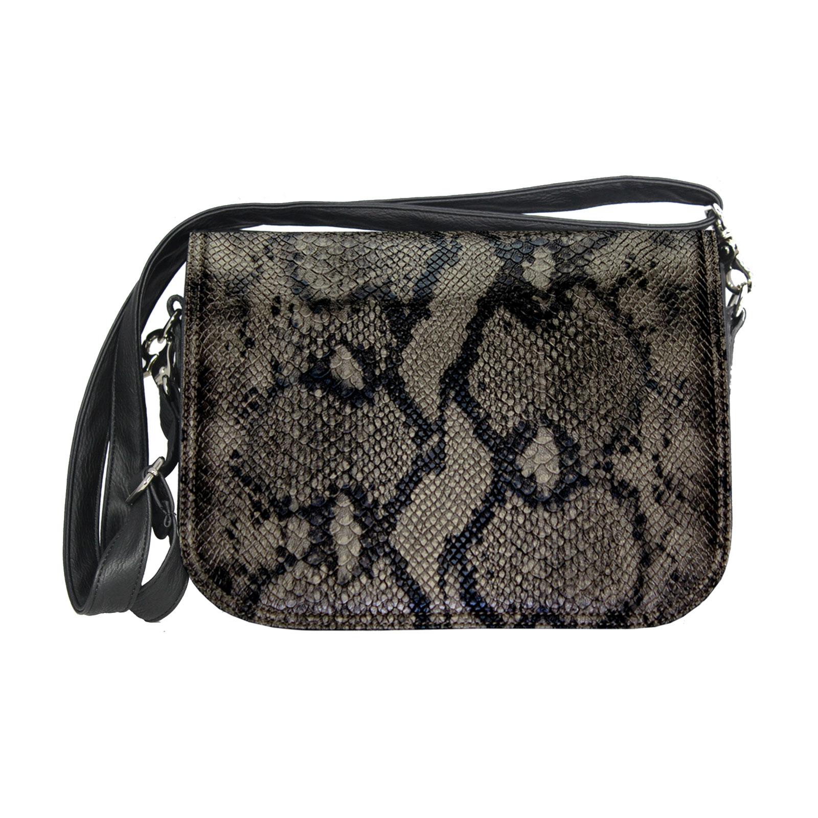Crossover Taschen Schlangenoptik