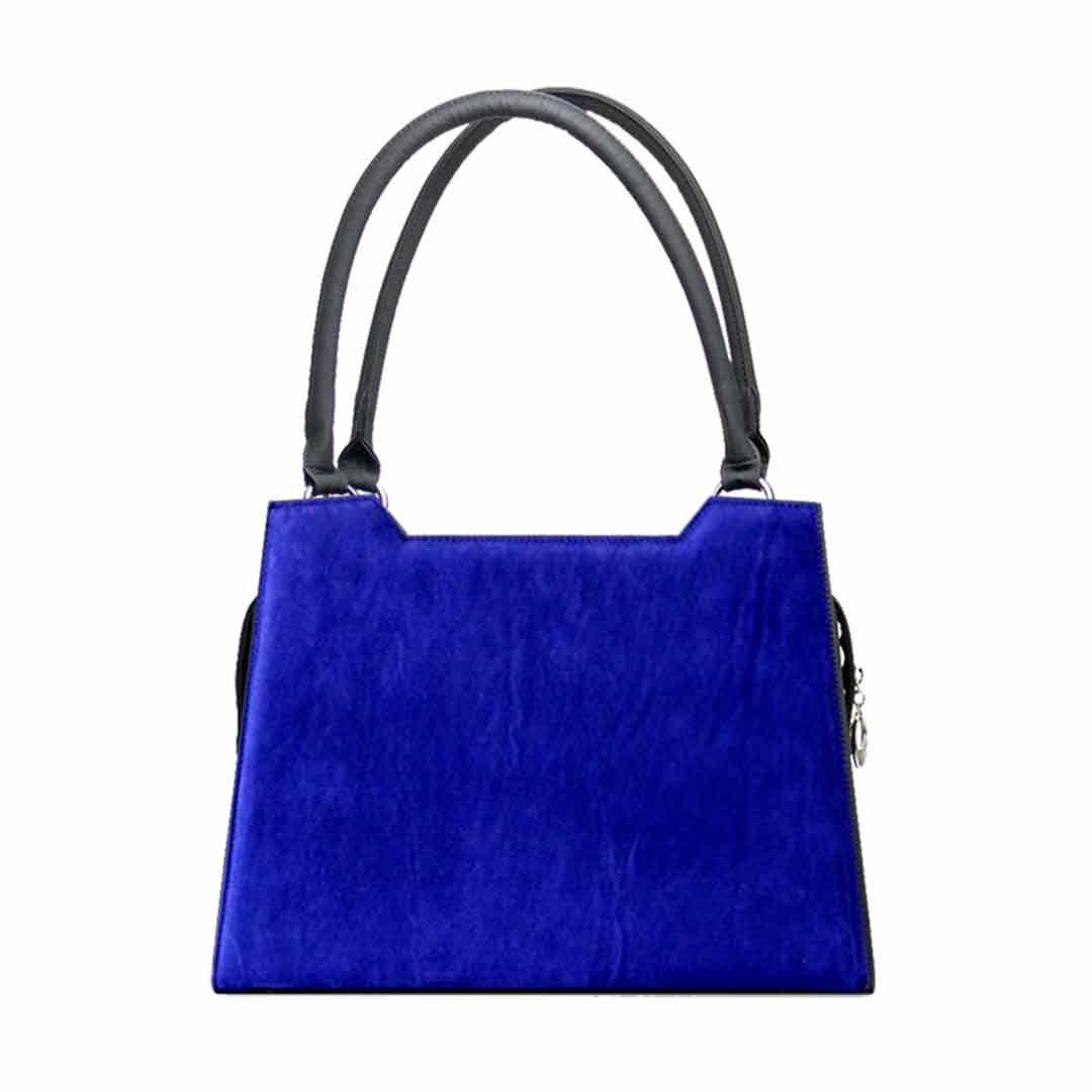 Handatsche mit blauen Samt Modell elegance Gizeh komplett