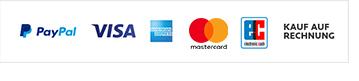 Logo der verschiedenen Zahlungsarten